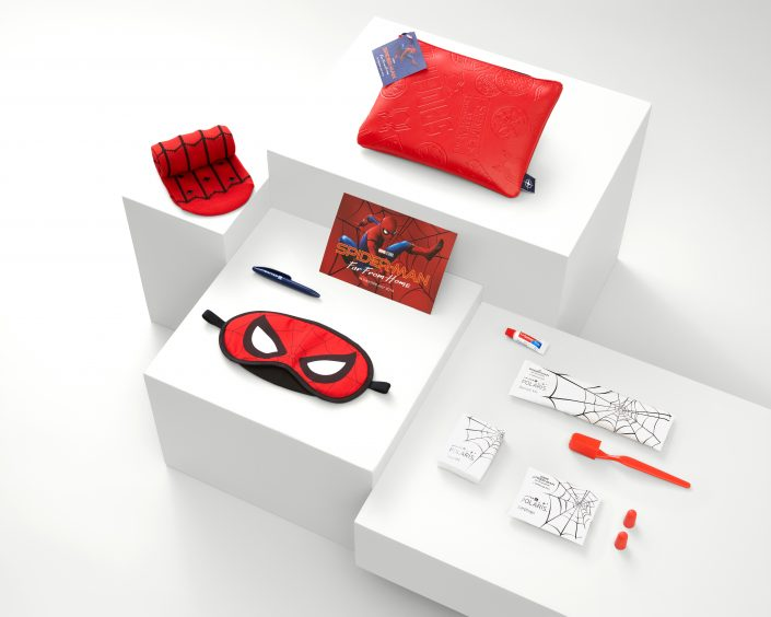 Bringing superhero fun to business class
