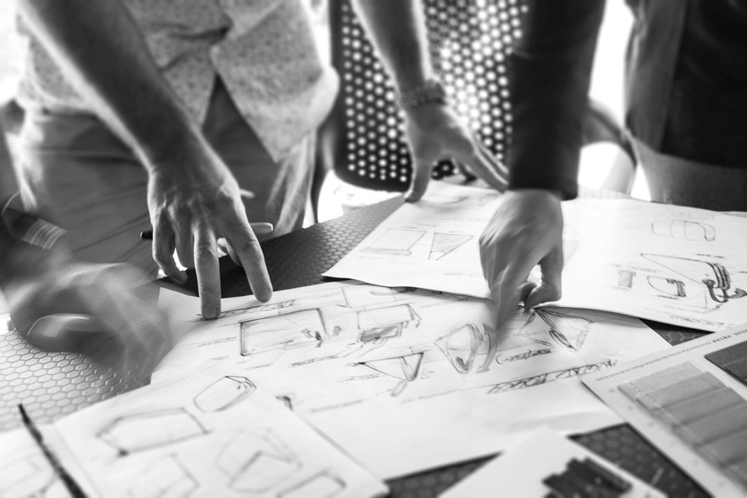 designers collaboration global team ideas